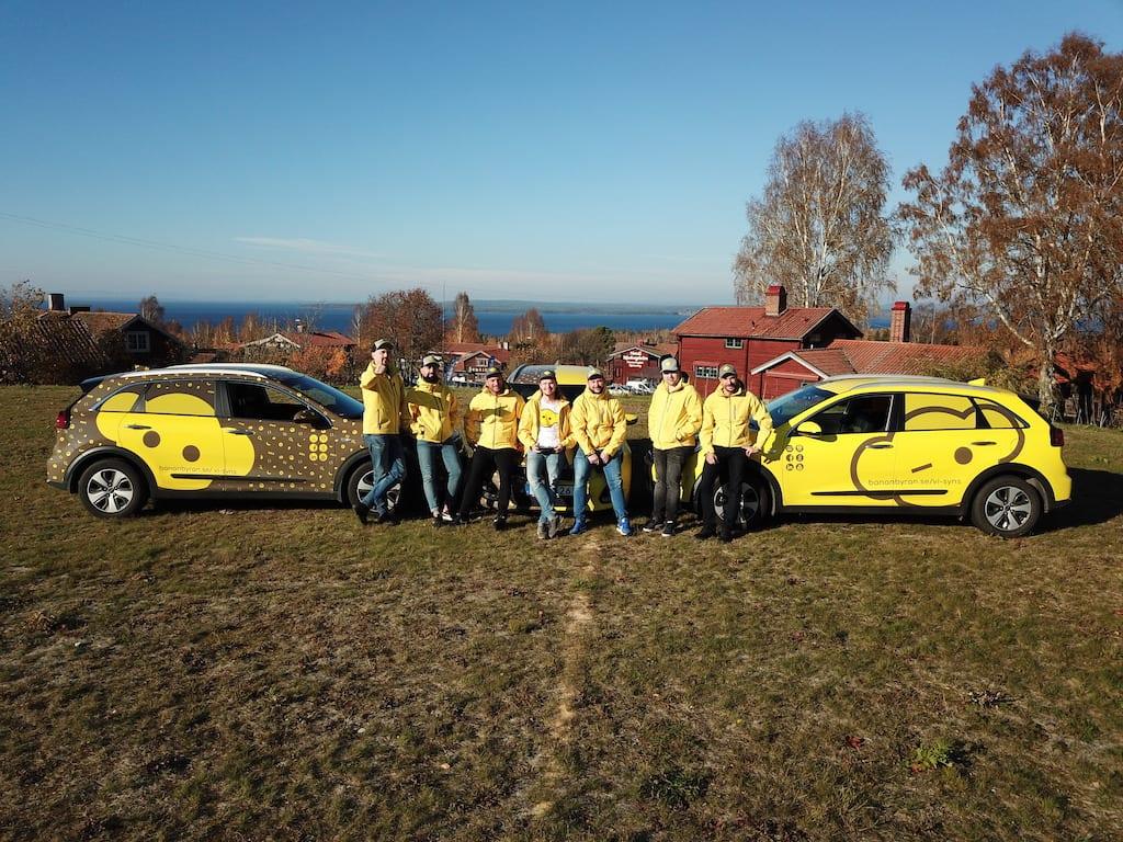 BananByrån Team 2018